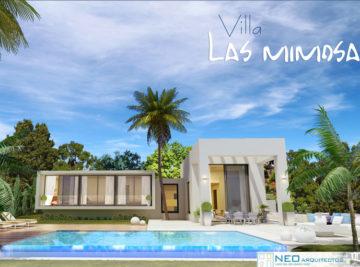 Las Mimosas piscina